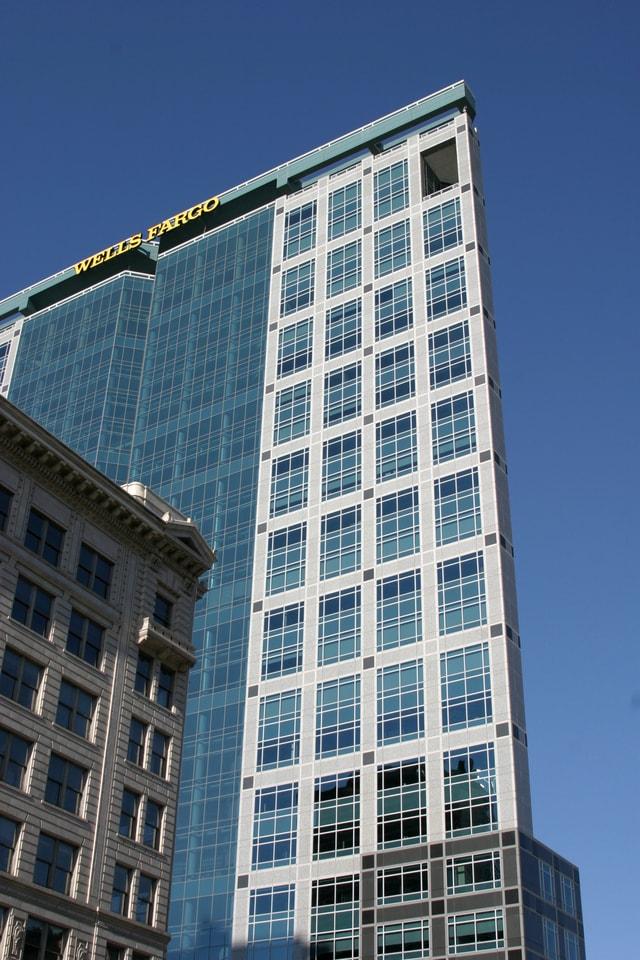 Downtown Salt Lake City - Wells Fargo Building