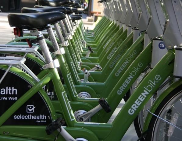 SLC Green Bike