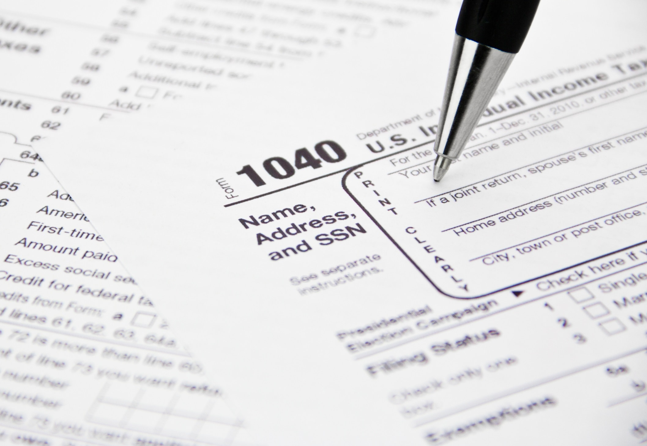 moving tax forms