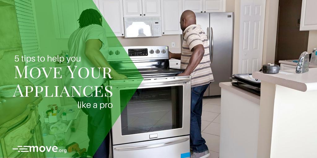 Move Your Appliances