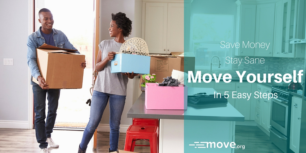 Move By Yourself: How To Move Yourself Without Professional Movers