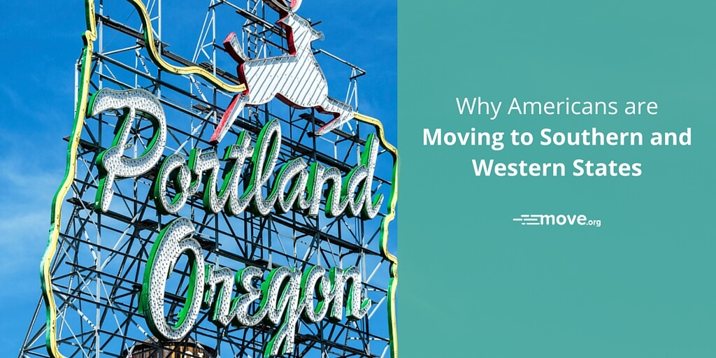 Why Americans Are Moving to Southern and Western States