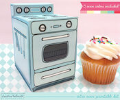 Cupcake and Oven