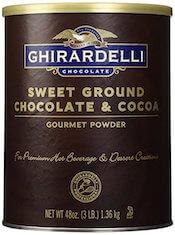 Ghirardelli Chocolate Sweet Ground Chocolate & Cocoa Beverage Mix, 48 oz