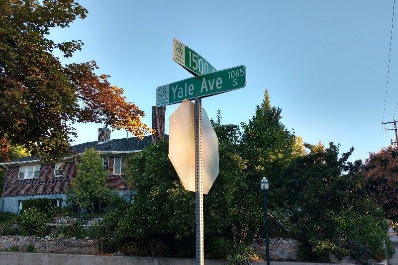 yalecrest neighborhood