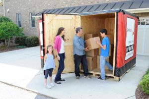 SMARTBOX moving container