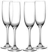 Fluted Champagne Flutes