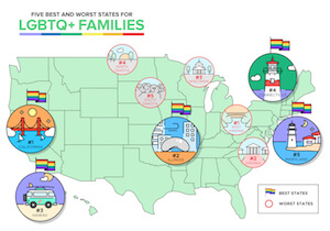 5 Best and Worst States to Move to Start an LGBTQ+ Family
