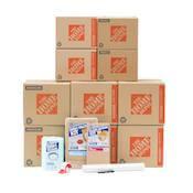 Home Depot Kitchen Moving Box Set