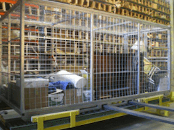 Zippy Shell shipping cage