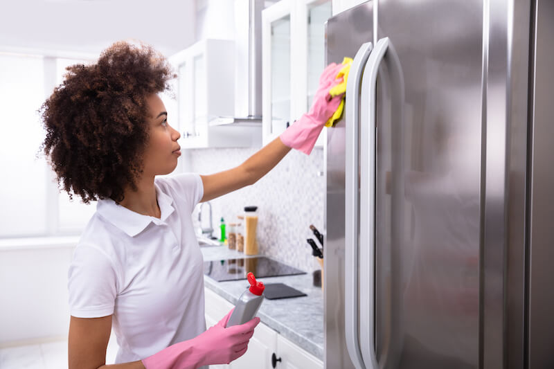 8. save on energy costs by cleaning refrigerator coils