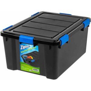 Ziploc storage bin