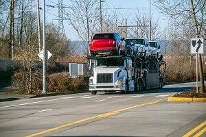 Auto shipment truck