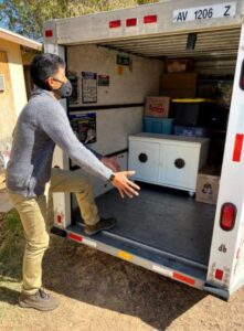 Packing a U-Haul Trailer